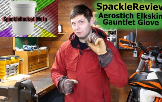 SpackleReview - Aerostich Elkskin Gauntlet